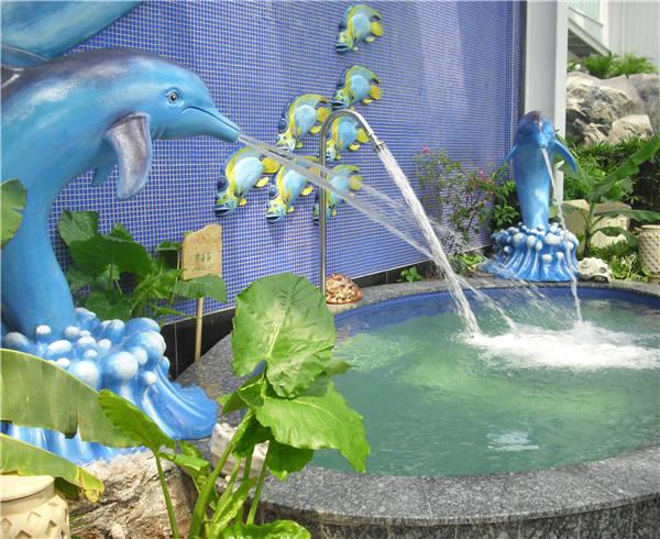 海豚冲击浴