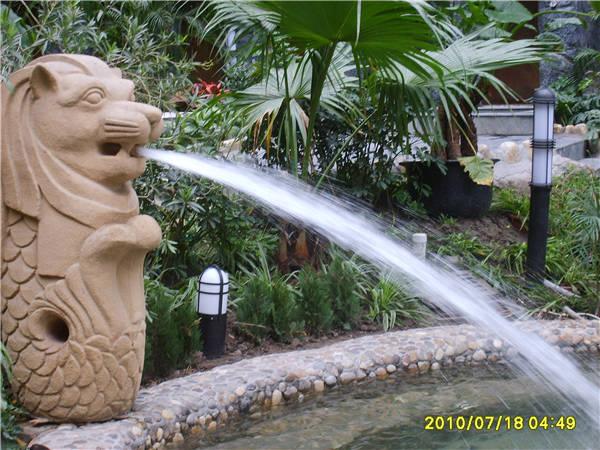 狮头冲击浴